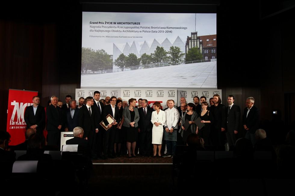 Rozstrzygnięcie VIII edycji konkursu Życie w Architekturze