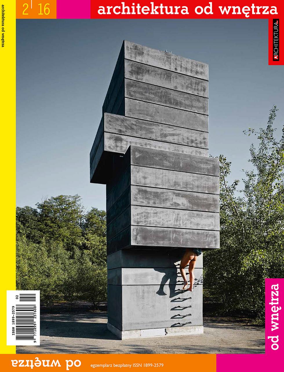 """""""Architektura od wnętrza"""" nr 2/2016"""