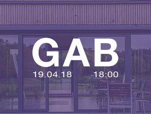 Koło Naukowe Studentów Architektury Politechniki Poznańskiej zaprasza na spotkanie z GAB Studio